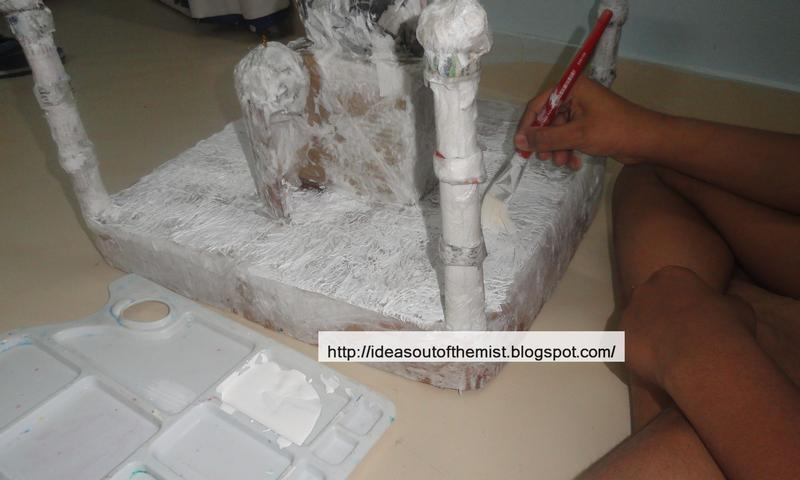 Ideas out of the mist how to make a paper mache model for Homemade papier mache