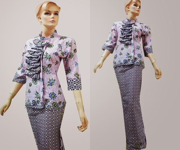 Model Baju Batik Gamis Motif Rang Pictures