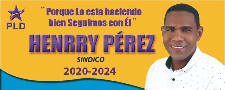 HENRRY PEREZ -SINDICO-
