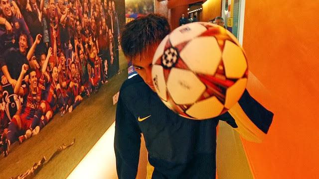 Primer hat-trick de Neymar Jr con el Barça