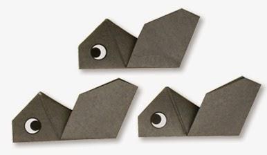 Hướng dẫn cách gấp con Kiến bằng giấy đơn giản - Xếp hình Origami với Video clip - How to make a Ant