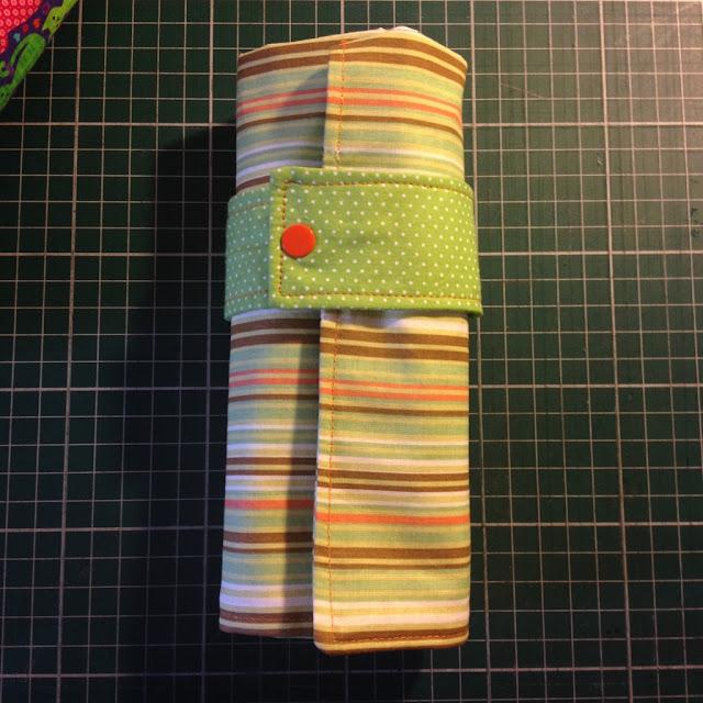 Estojo de rolo de tecido 36 cores | @ateliemadrica