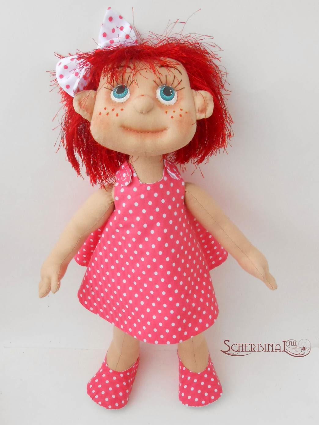 Текстильная игровая кукла мастер класс