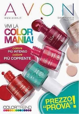 Catalogo Avon Online Campagna 6 Clicca sul catalogo per ordinare! Spedizione Gratis a partire di 35€ di ordine!