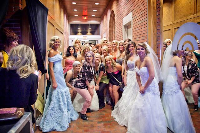 nwa fashion week, she said yes bridal, romona keveza, anne barge, badgley mischka