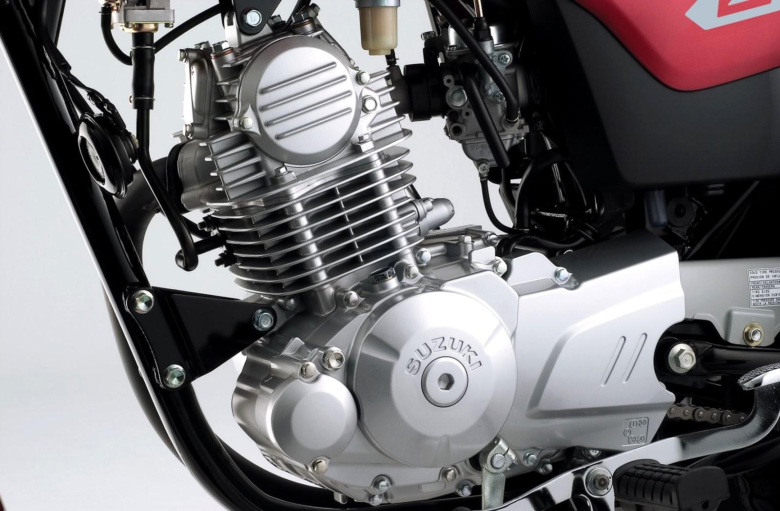 Motor da nova Suzuki GS 120 - Brazil 2013