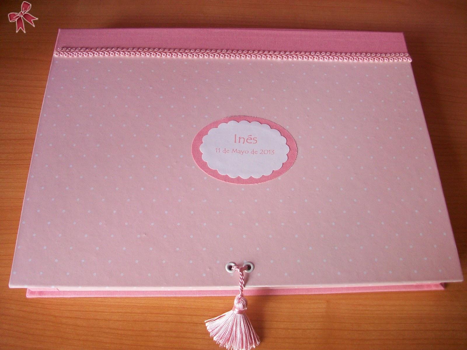 Libro Primera Comunión y caja a juego cartonaje