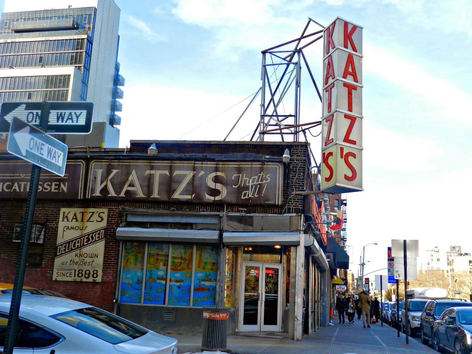 Katz Deli  New York