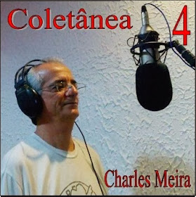 "Capa do CD ""Coletânea 4"" do cantor Charles Meira"