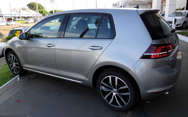 VW Golf - 2º caro mais desejado pelo consumidor 0KM do Brasil