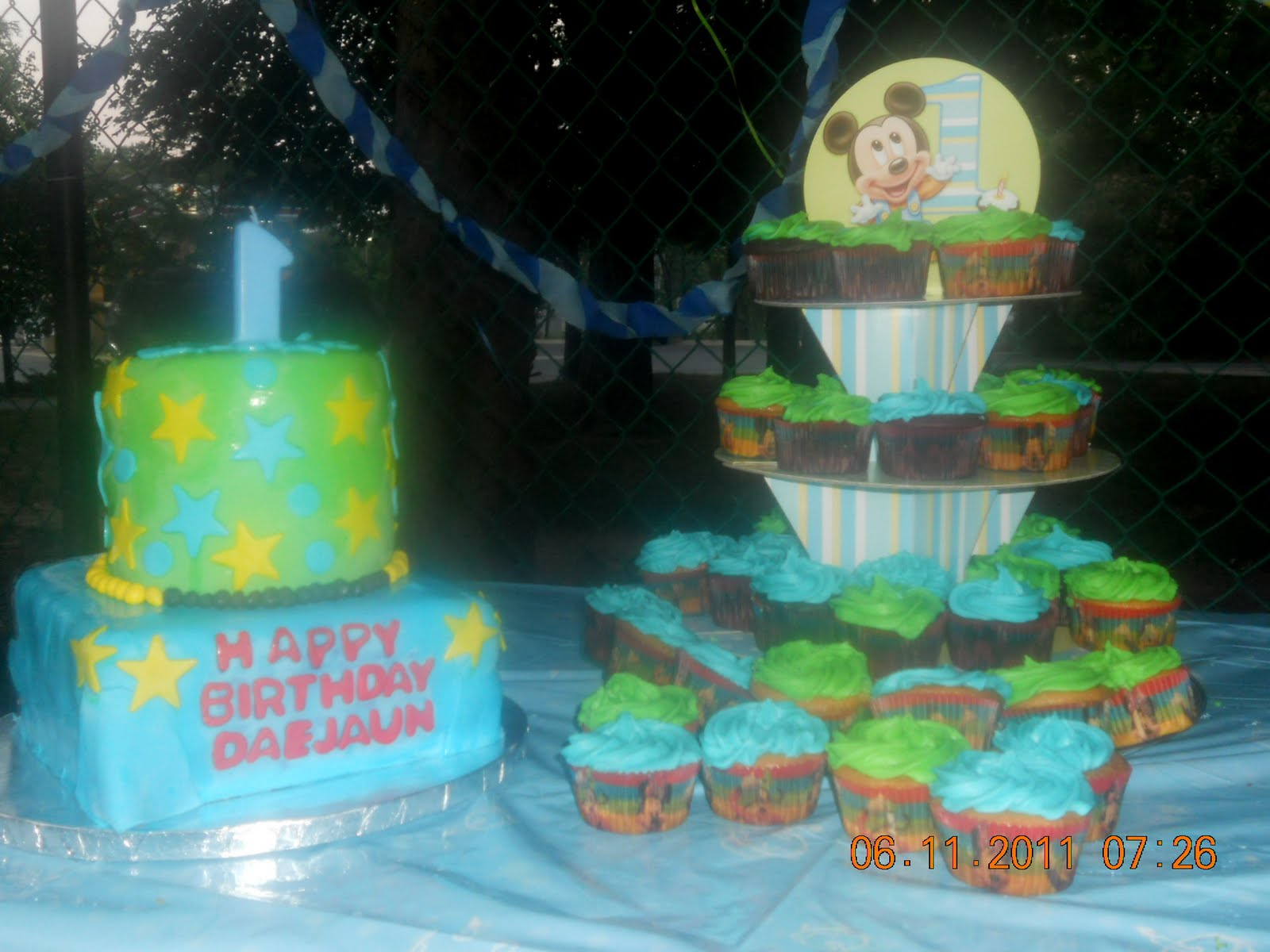 Mickey Mouse 1st Birthday Ideas