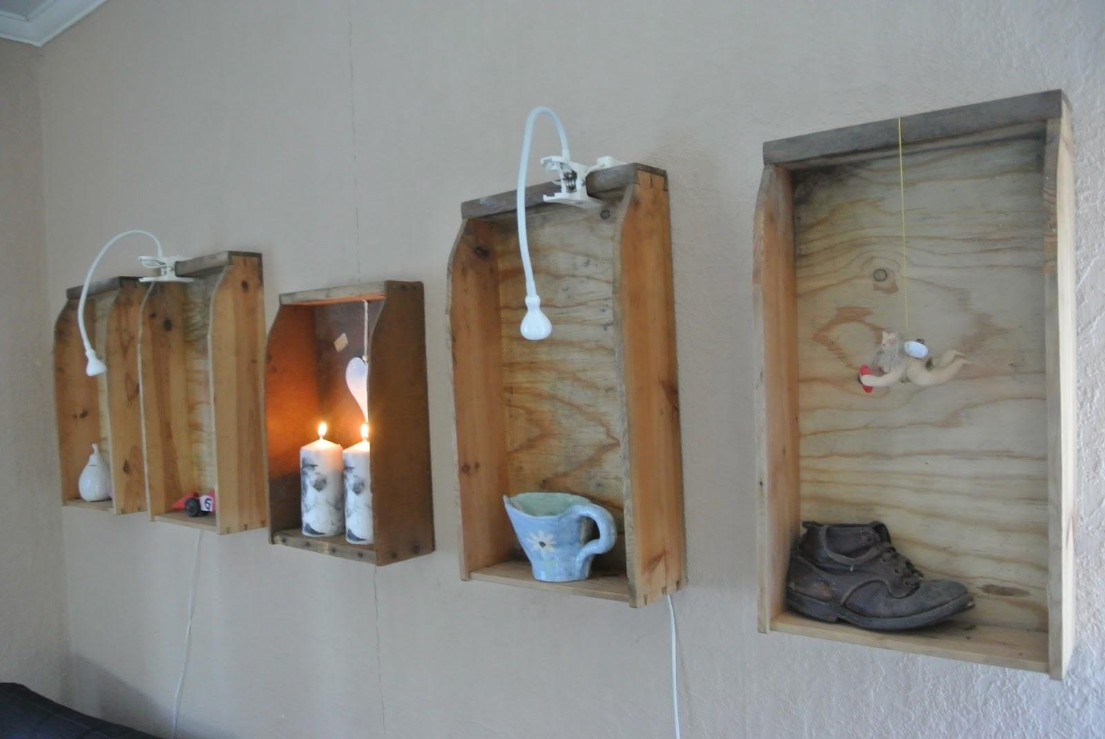 Hjärtruds stuga: på väggen
