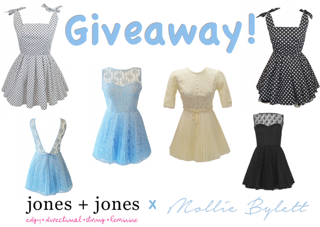 JONES + JONES GIVEAWAY ♡ Click here to enter!