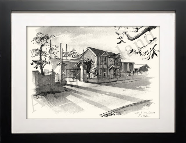 Tiptree Essex drawing