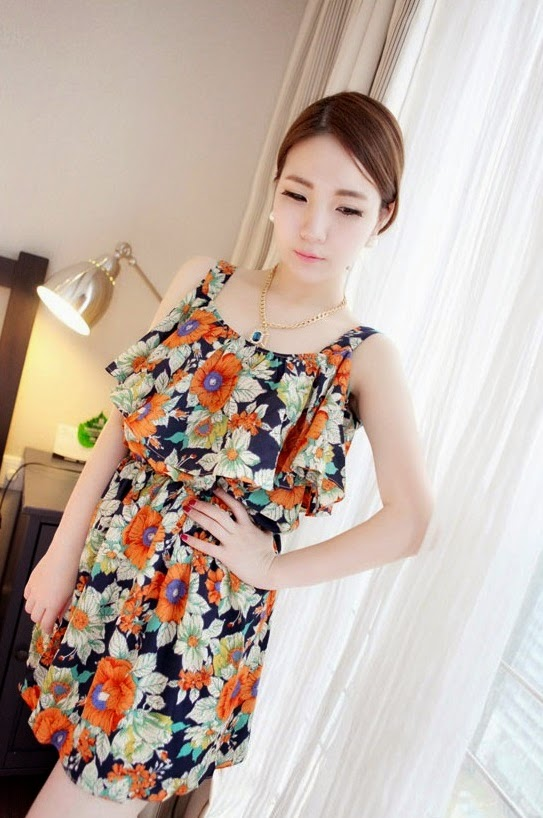 Baju: Dress Jumbai Floral