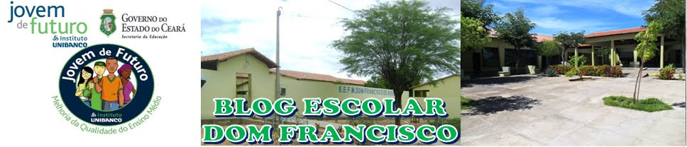Blog Escolar - Dom Francisco