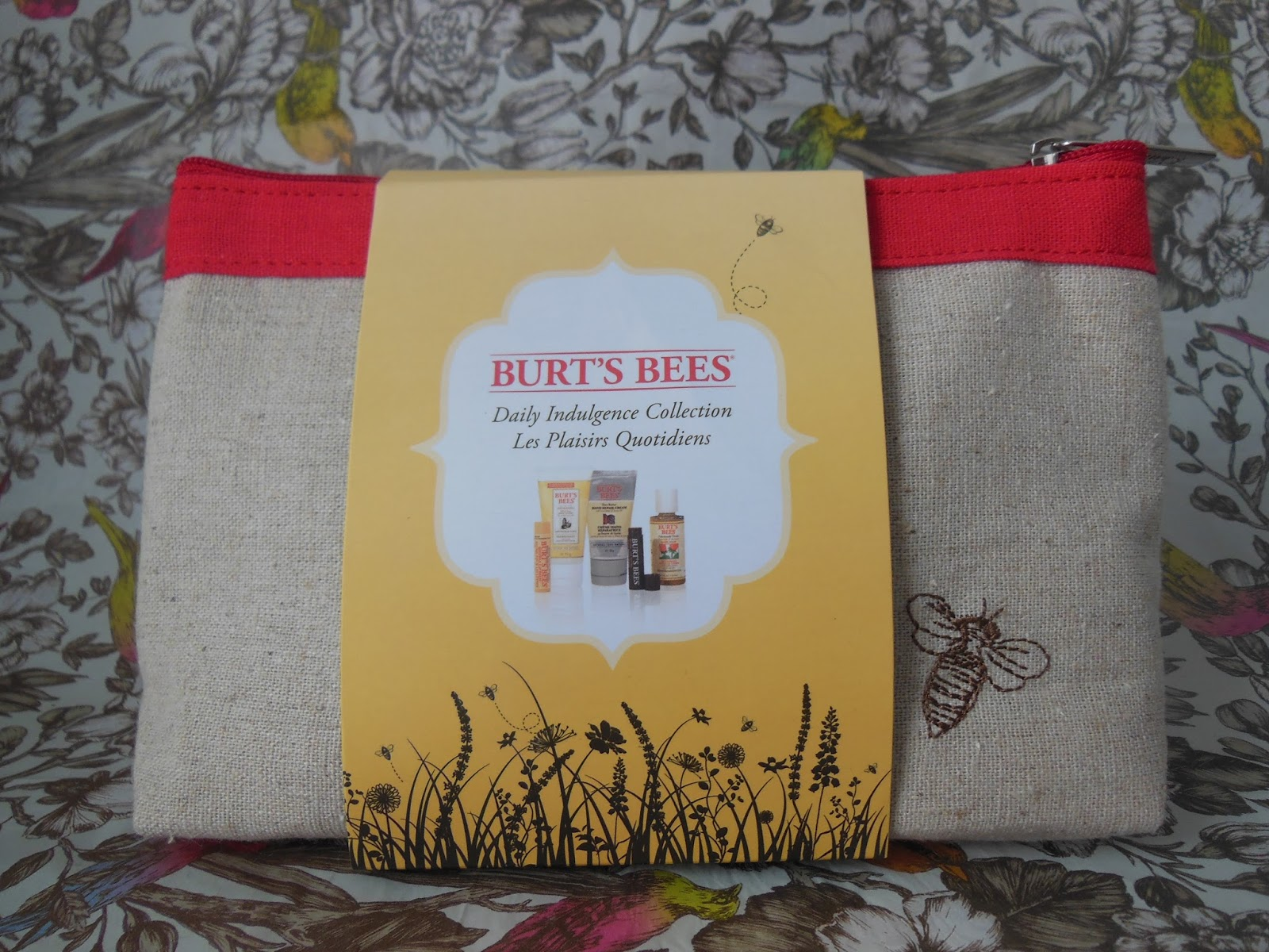 Burt's Bees Daily Indulgence collection