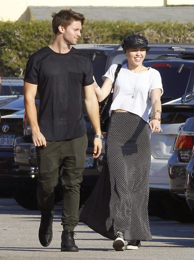 Miey Cyrus and Patrick Schwarzenegger spotted together in West Hollywood
