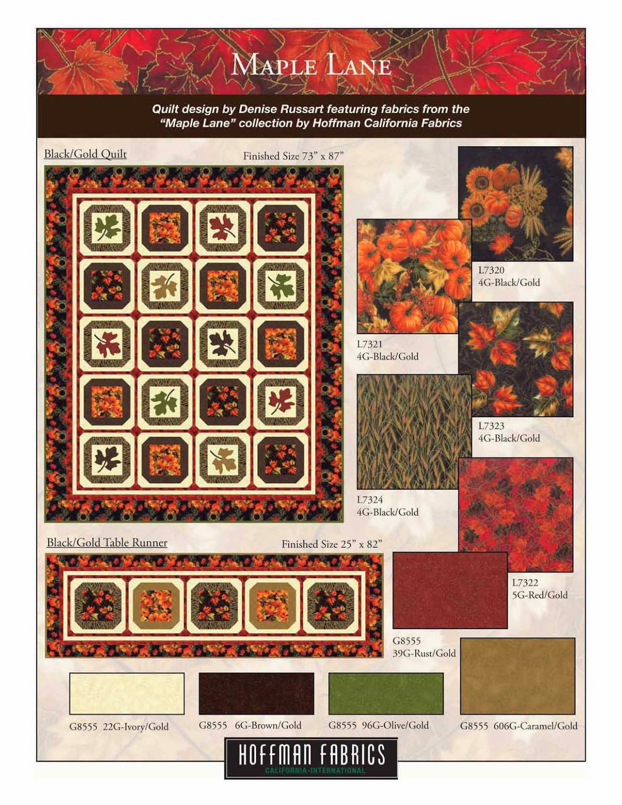 http://www.lovequilting.com/shop/free-hoffman-patterns/maple-lane/