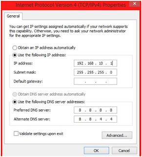 Cara Mudah Untuk Setting Lan Windows 8 / 8.1