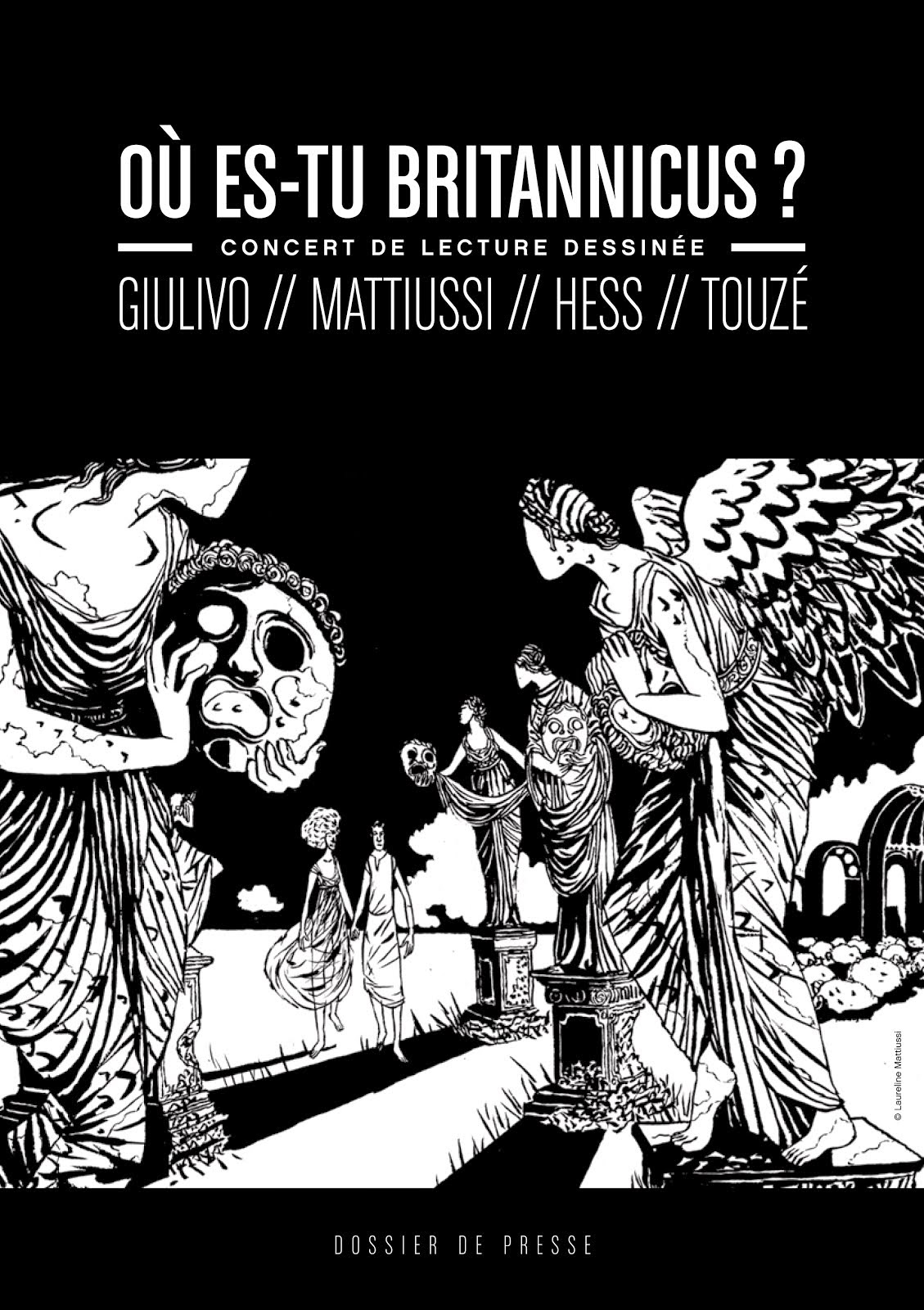 LES SPECTACLES/CONCERTS DESSINES : Où es-tu Britannicus ?