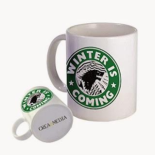 Taza Winter is Coming Starbucks