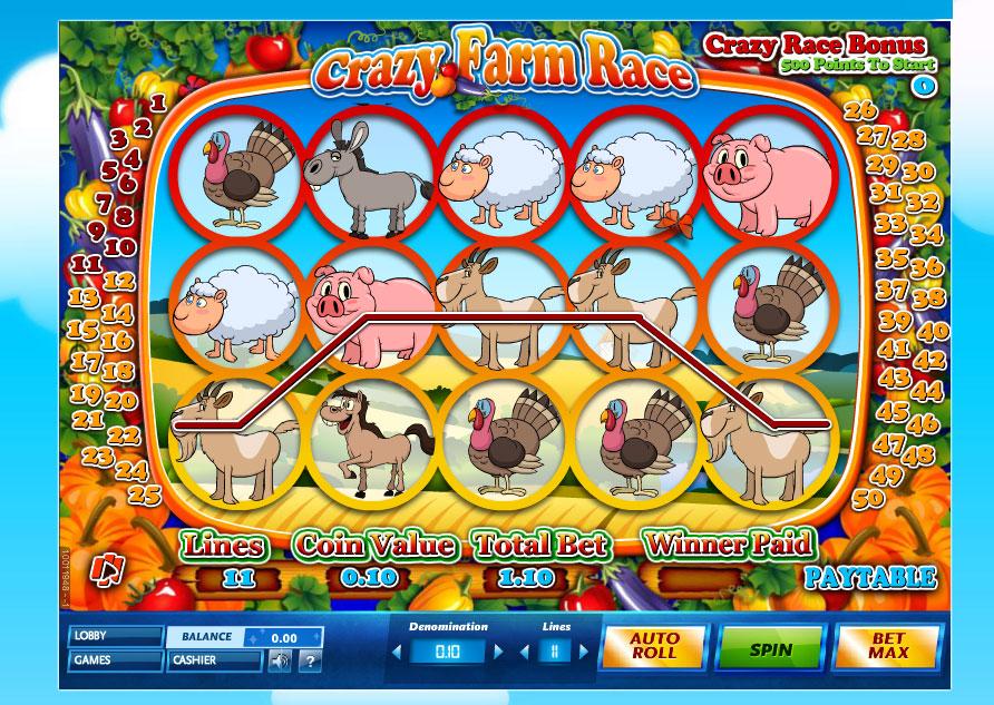 Play Crazy Farm Slots Free Slot Games