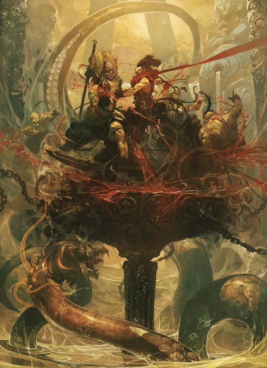 Reynan Sanchez ilustrações fantasia games Batalha real