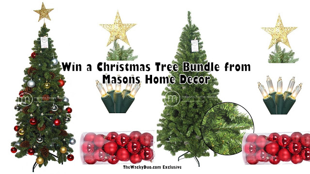 Win a Christmas Tree Bundle!