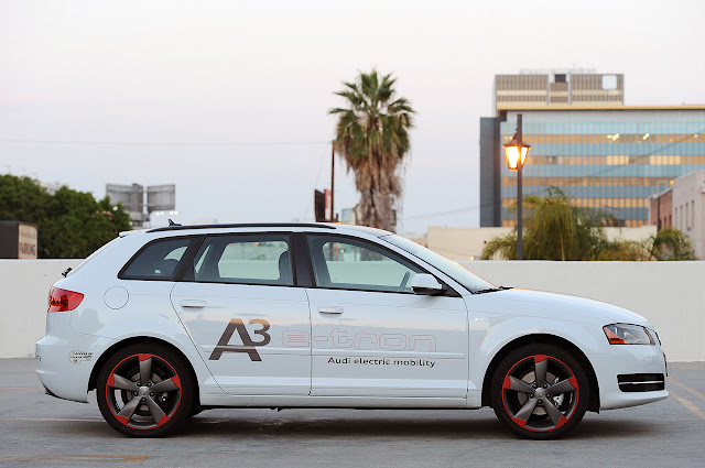 new Audi A3 E-Tron