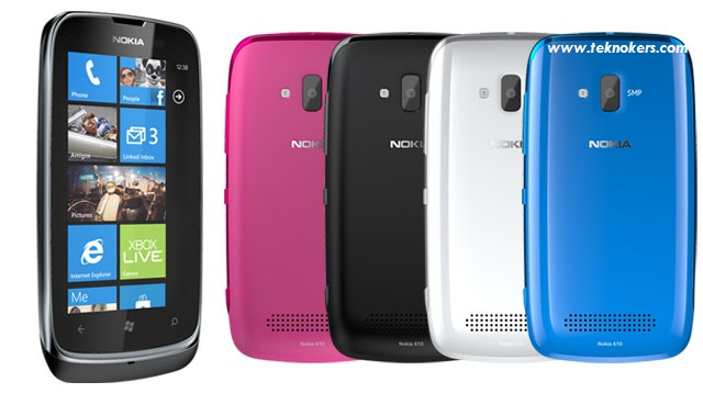 harga nokia lu ia 610, spesifikasi nokia lumia 610, ponsel windows phone murah, hp windows 2 jutaan