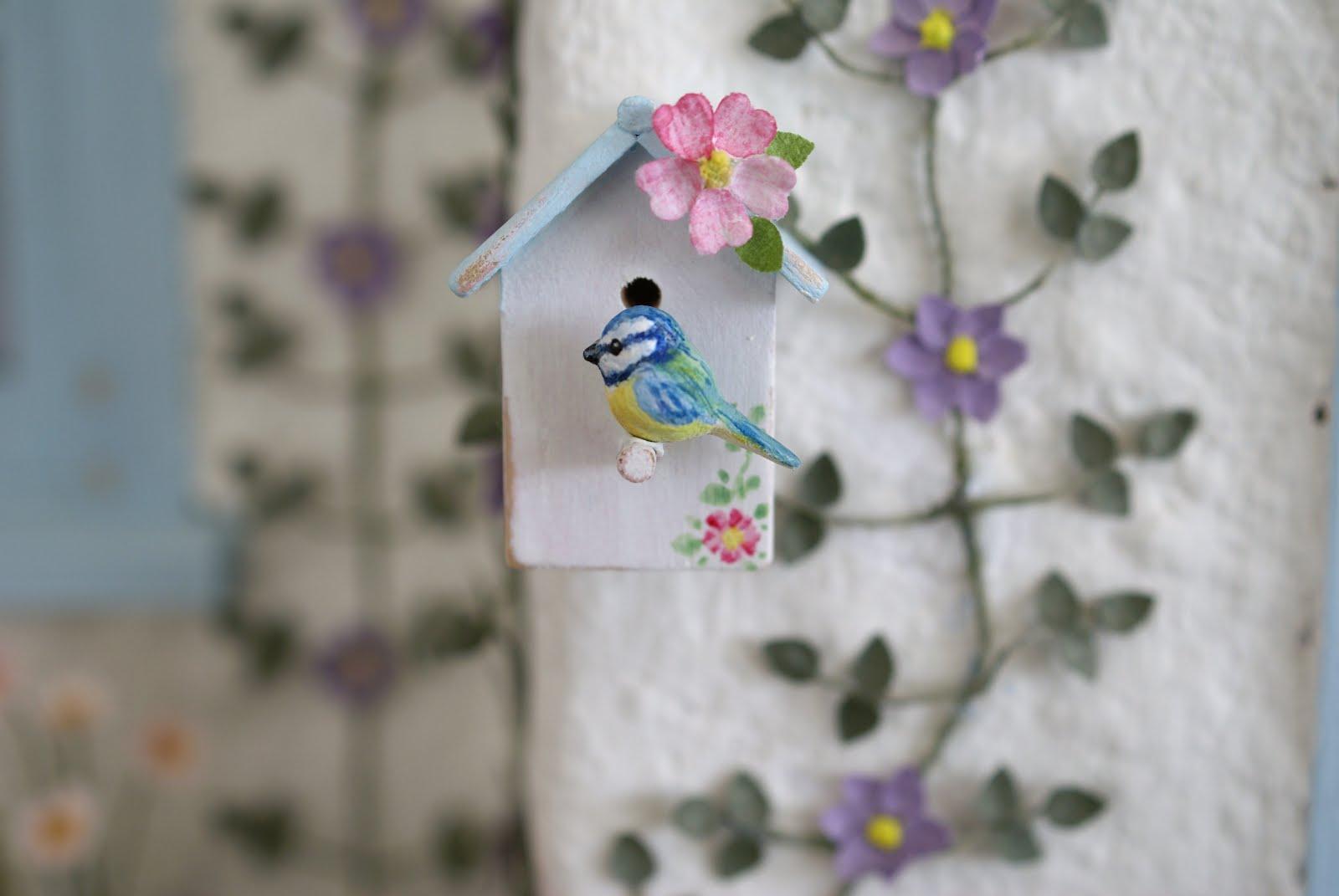 A Tiny Handmade Bluetit