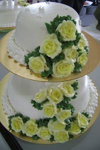 Wedding Cake Steam Buttercream
