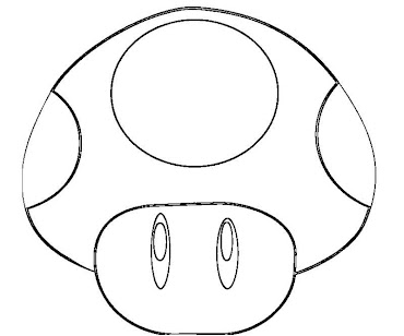 #9 Toad Coloring Page