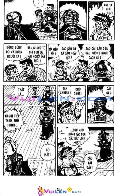 Siêu quậy Teppi chap 29 - Trang 31