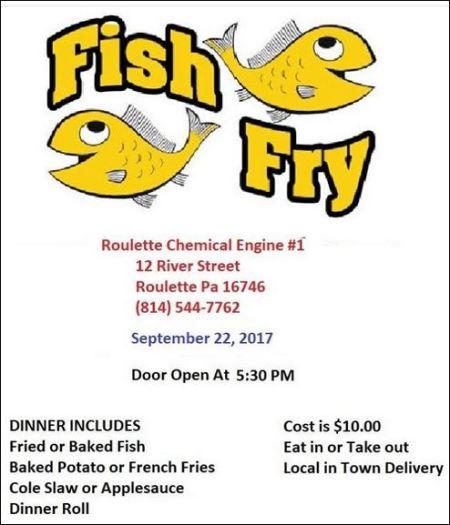 9-22 Fish Fry, Roulette VFD