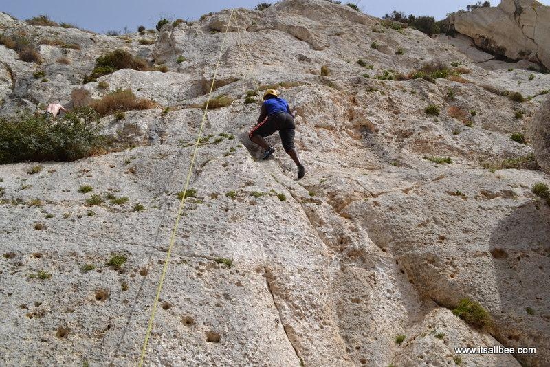 Rock Climbing with Andrew Warrington of MC Adventures