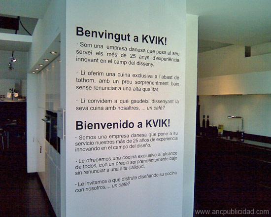 Anc publicidad letras de vinilo para paredes de pladur - Letras vinilo pared ...