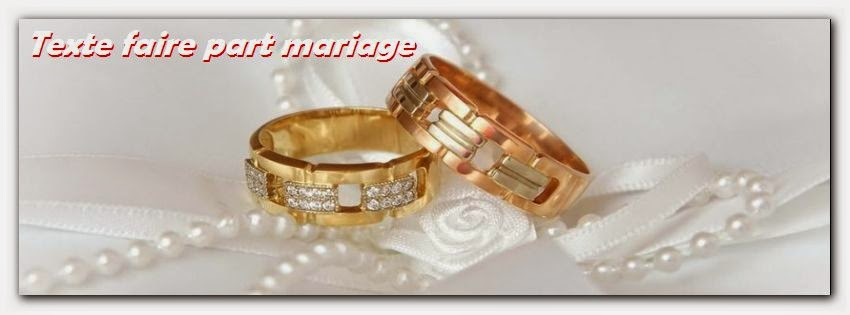 Modèle lettre invitation mariage