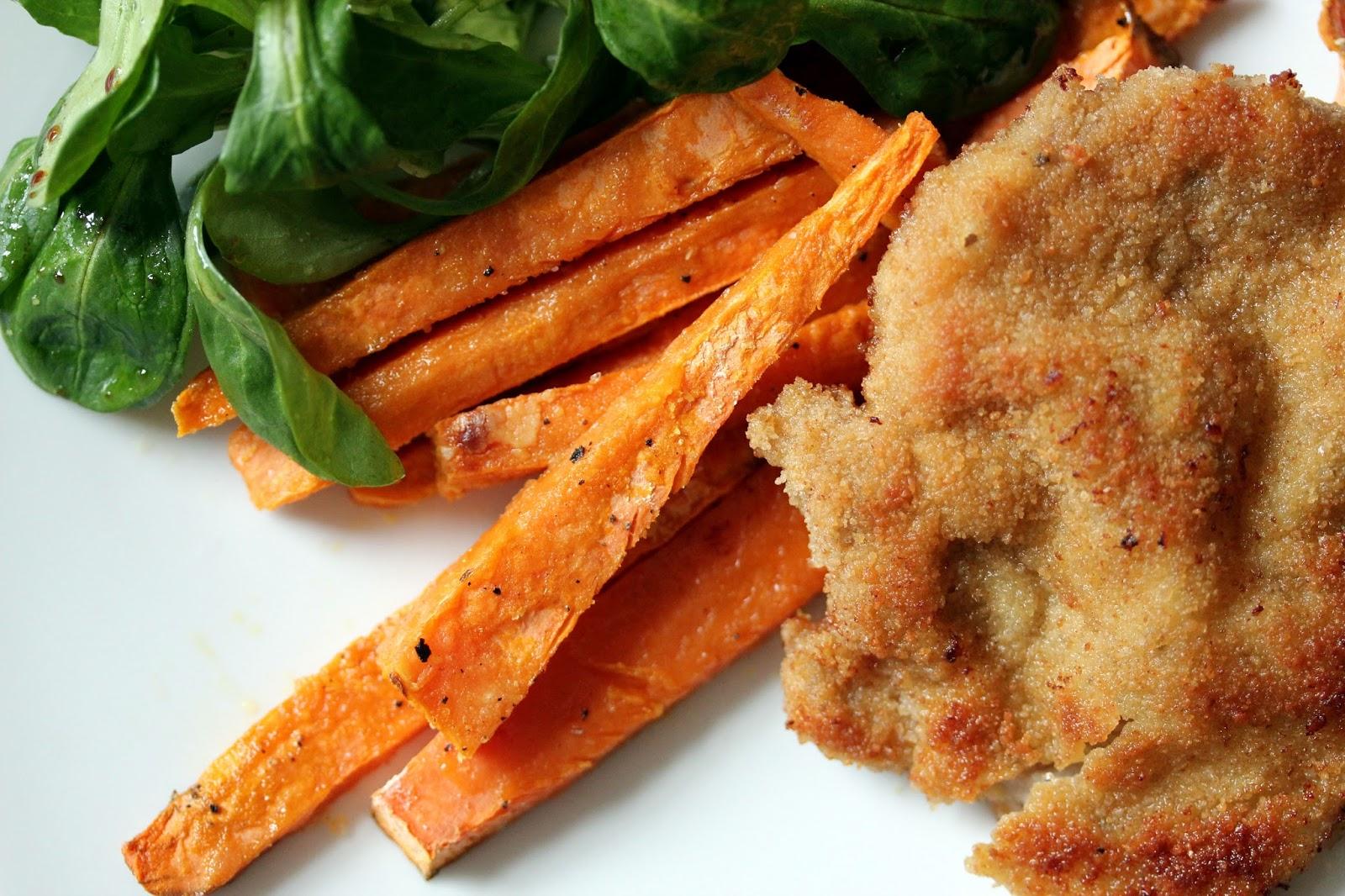 Sachen Die Glücklich Machen Süßkartoffel Pommes Aus Dem Ofen