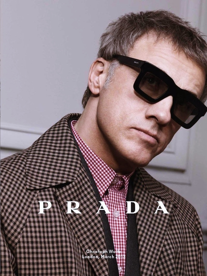 Prada Eyewear for men - Fall/Winter 2013/14 Ad Campaign Preview ...