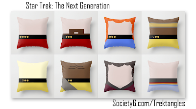 Star Trek The Next Generation TNG Pillows