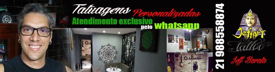 Jeffart Tattoo Studio - Tatuagens exclusivas, personalizadas com o maior profissionalismo.