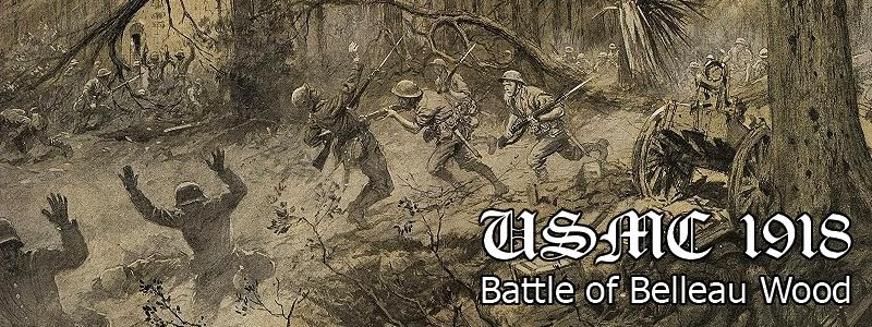 USMC 1918 - Battle of Belleau Wood