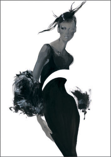 Doctor Ojiplático. David Downton. Fashion Illustration
