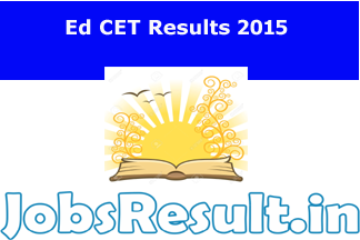 TS EDCET Results 2015
