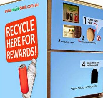 Envirobank reverse vending machine
