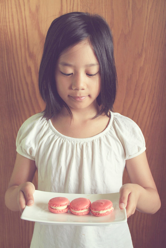 4 Winter Time Camera Moments for the Family, macarons