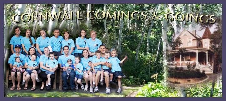 CORNWALL COMINGS & GOINGS