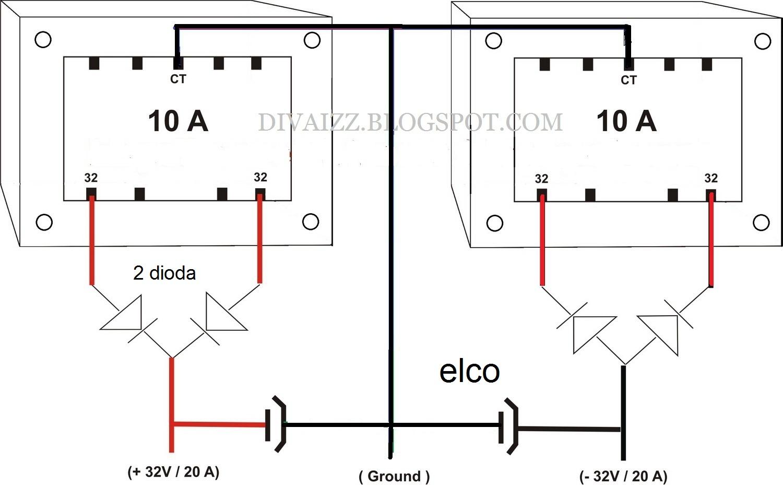 Image Result For Cara Menggabung Power Amplifier